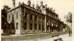 Une vue ancienne de Santé navale Bordeaux