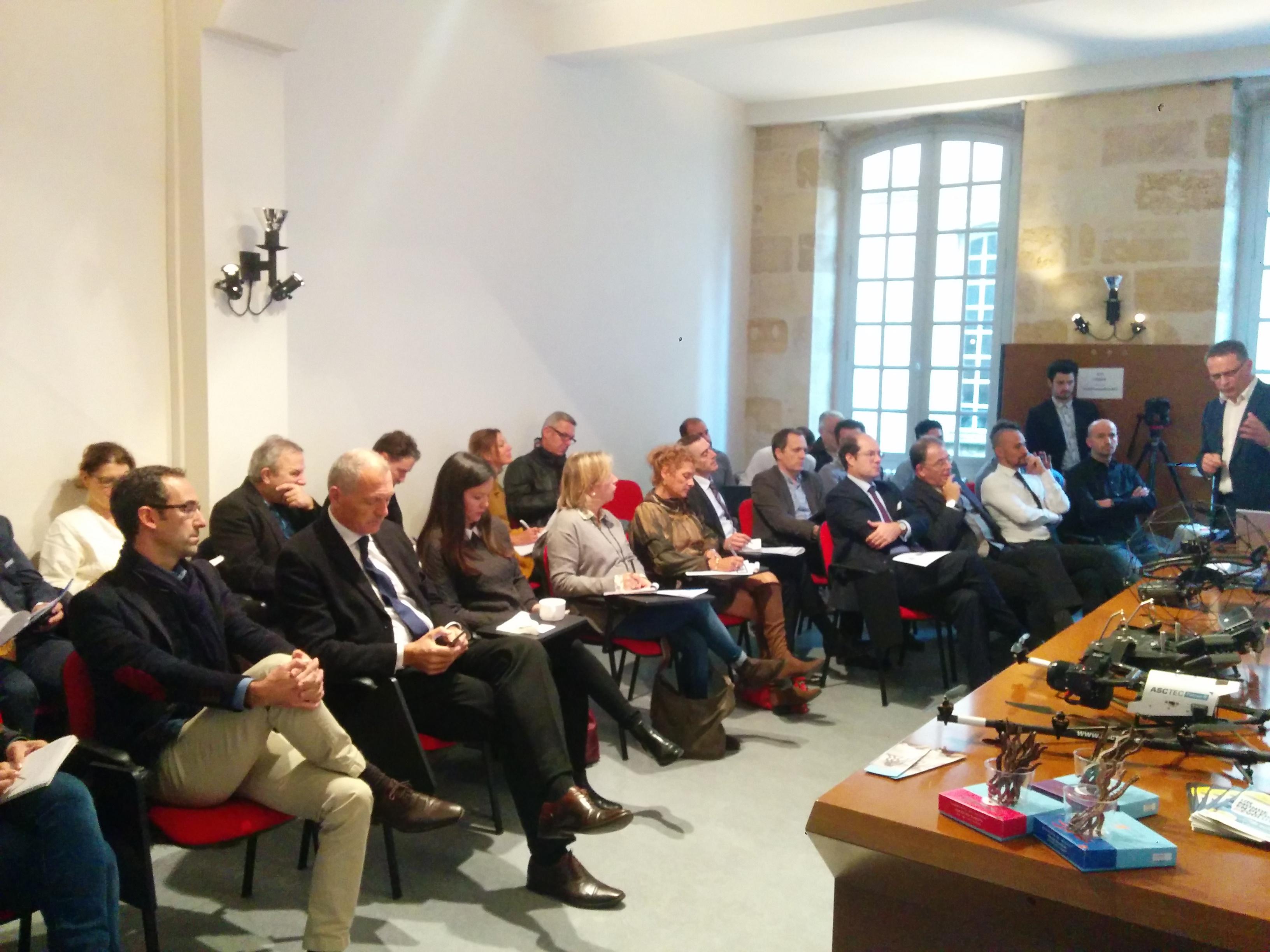 Air Marine a décidé de faire son entrée en Bourse. Photo Club de la presse de Bordeaux.