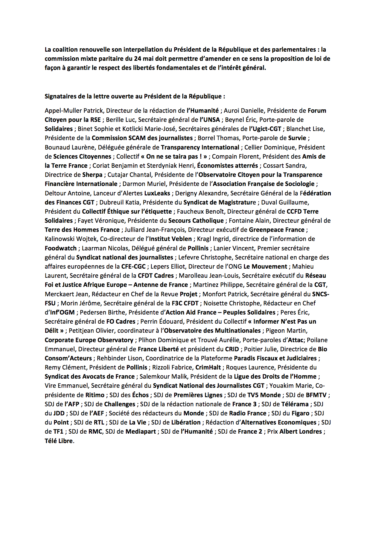 20180515-cp-secret-des-affaires-action-unitaire-spectaculaire-pour-interpeller-emmanuel-macron-et-les-parlementaires-2-glissees