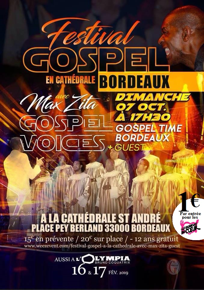 festival gospel en cath drale conf rence de presse et show case 18 09 18h club presse. Black Bedroom Furniture Sets. Home Design Ideas