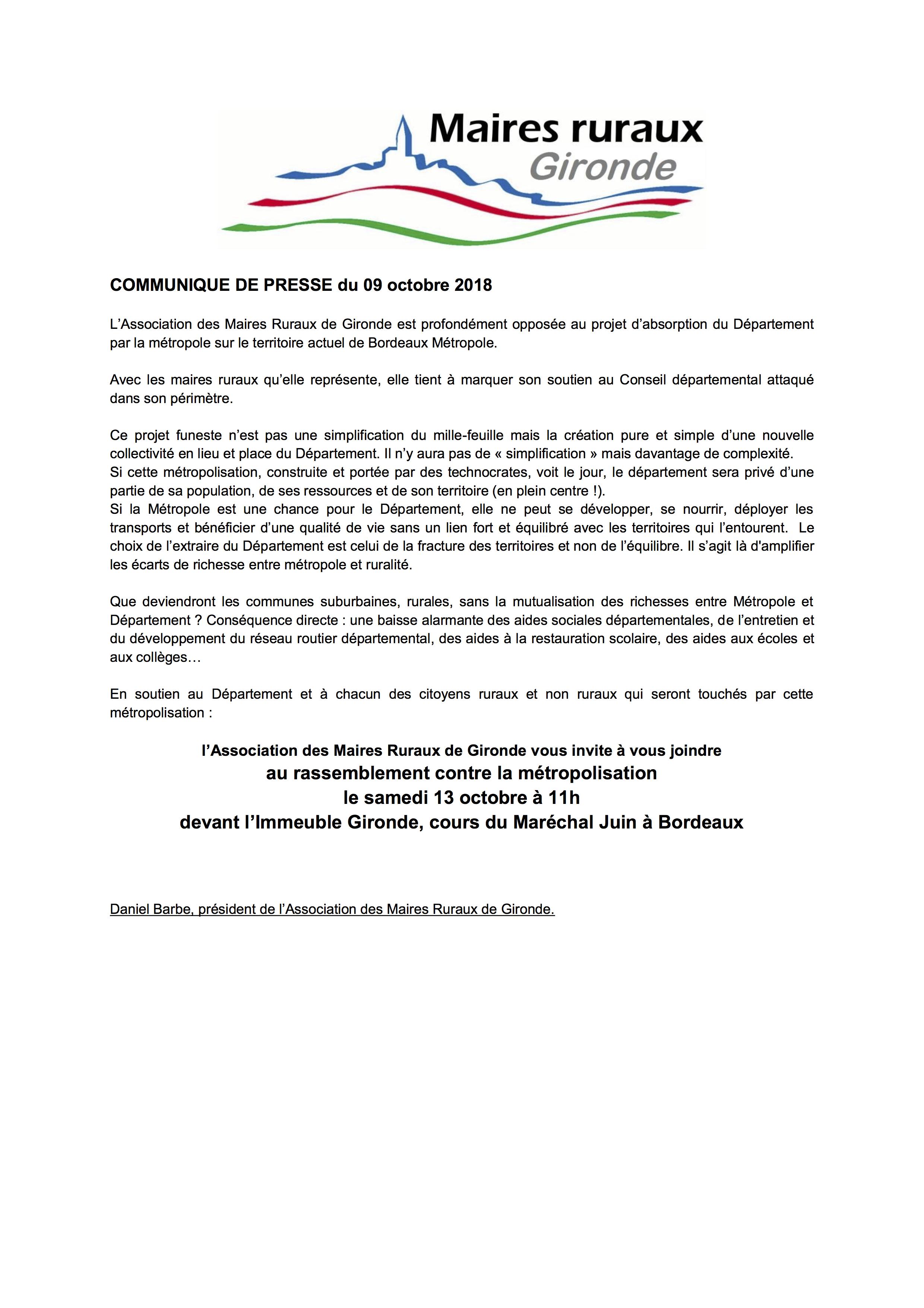 communique-presse-association-des-maires-ruraux-de-gironde-amr33-09-10-18