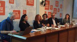 Conférence de presse de l'association Syprès le vendredi 12 octobre 2018 au club de la presse de Bordeaux
