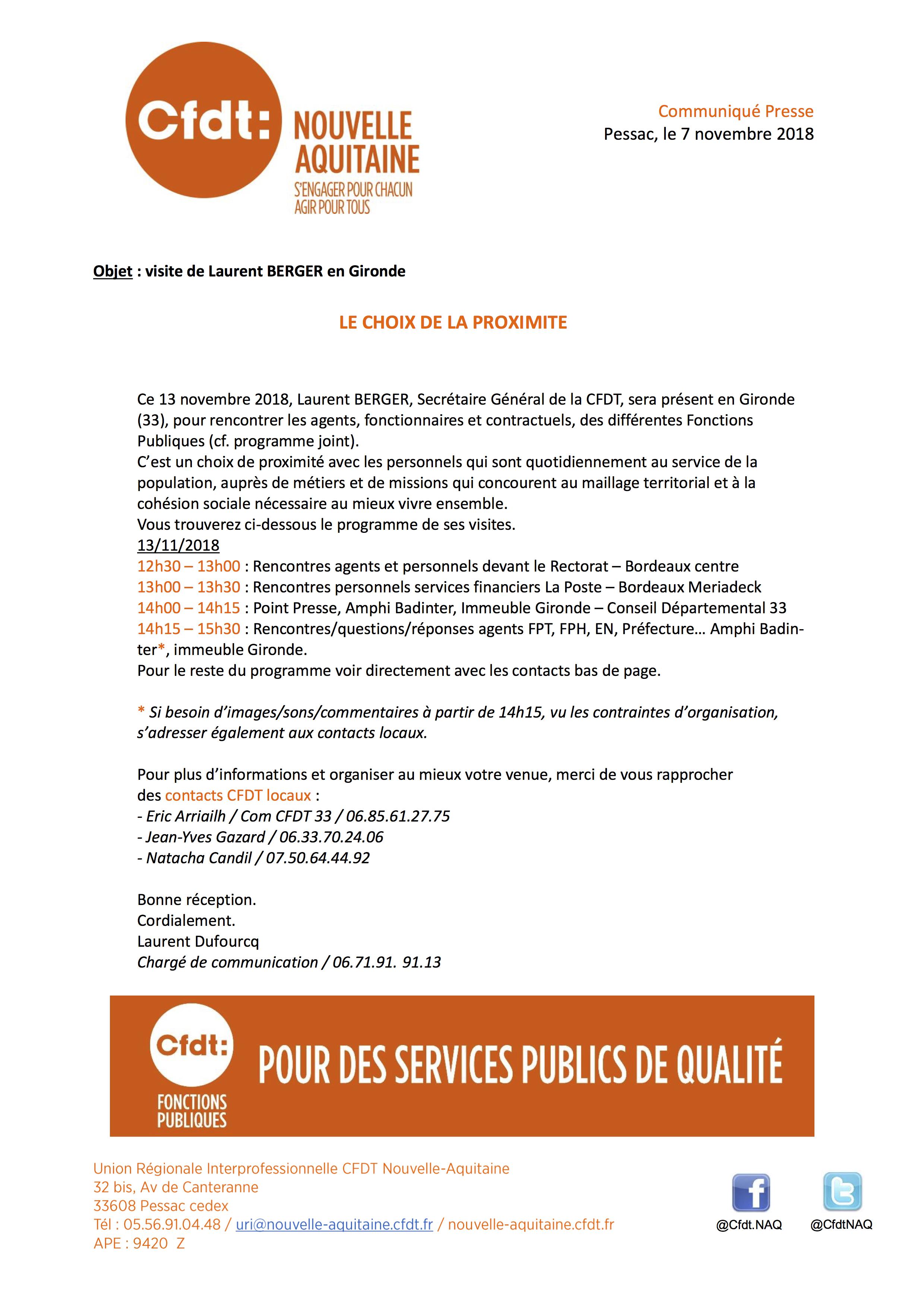 communique-presse-cfdt-nouvelle-aquitaine-laurent-berger-en-gironde