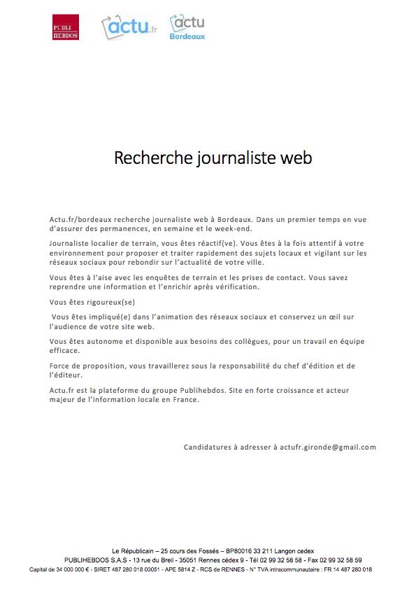 emploijournalisteactubordeaux