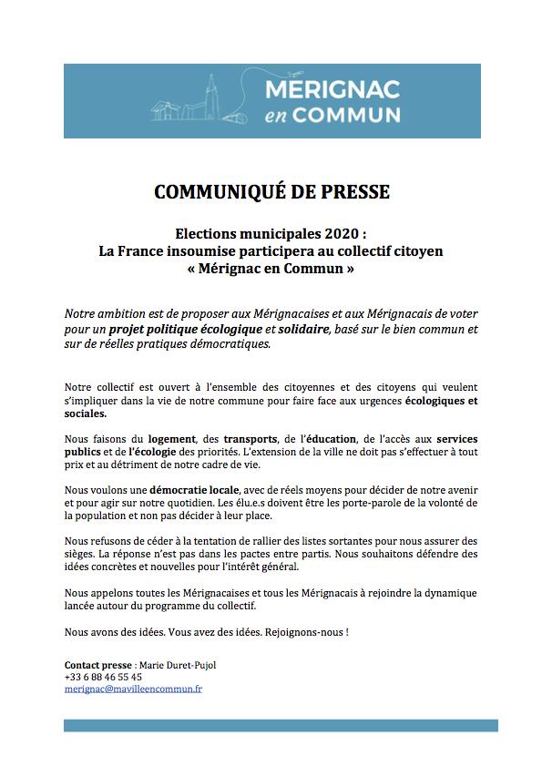 CP Mérignac en Commun