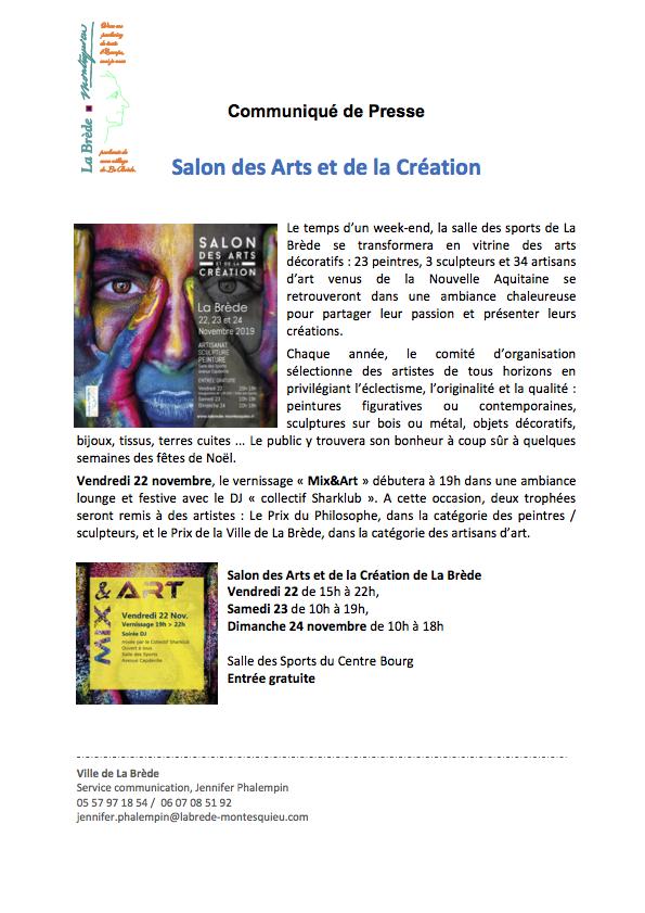 Communiqué_salonArts 2019_Partie1
