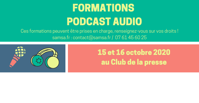 Nouvelle session des podcasts