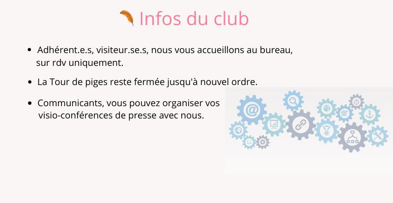 Infos du club