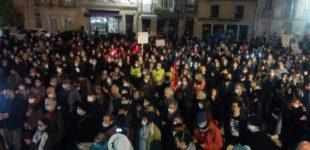 Une foule nombreuse avait pris part le 28 novembre contre le projet de loi sécurité globale et les violences policières.