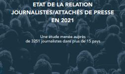 Relations journalistes et attachés de presse 2021