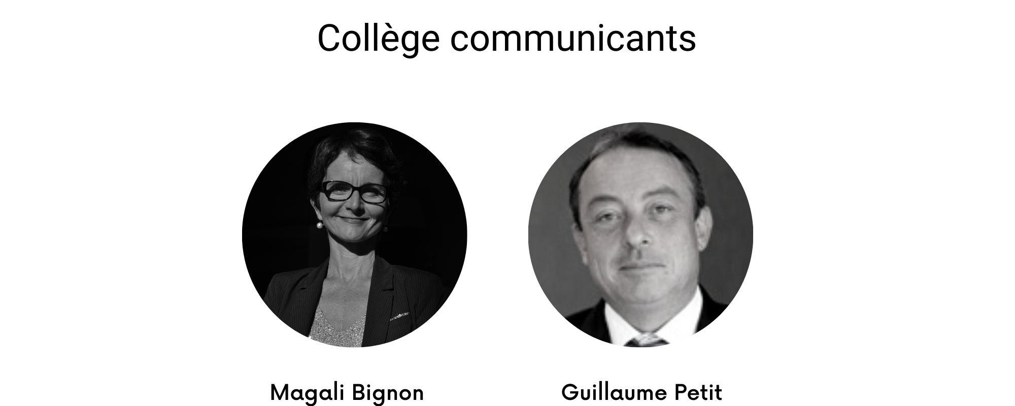 collège communicants 2021