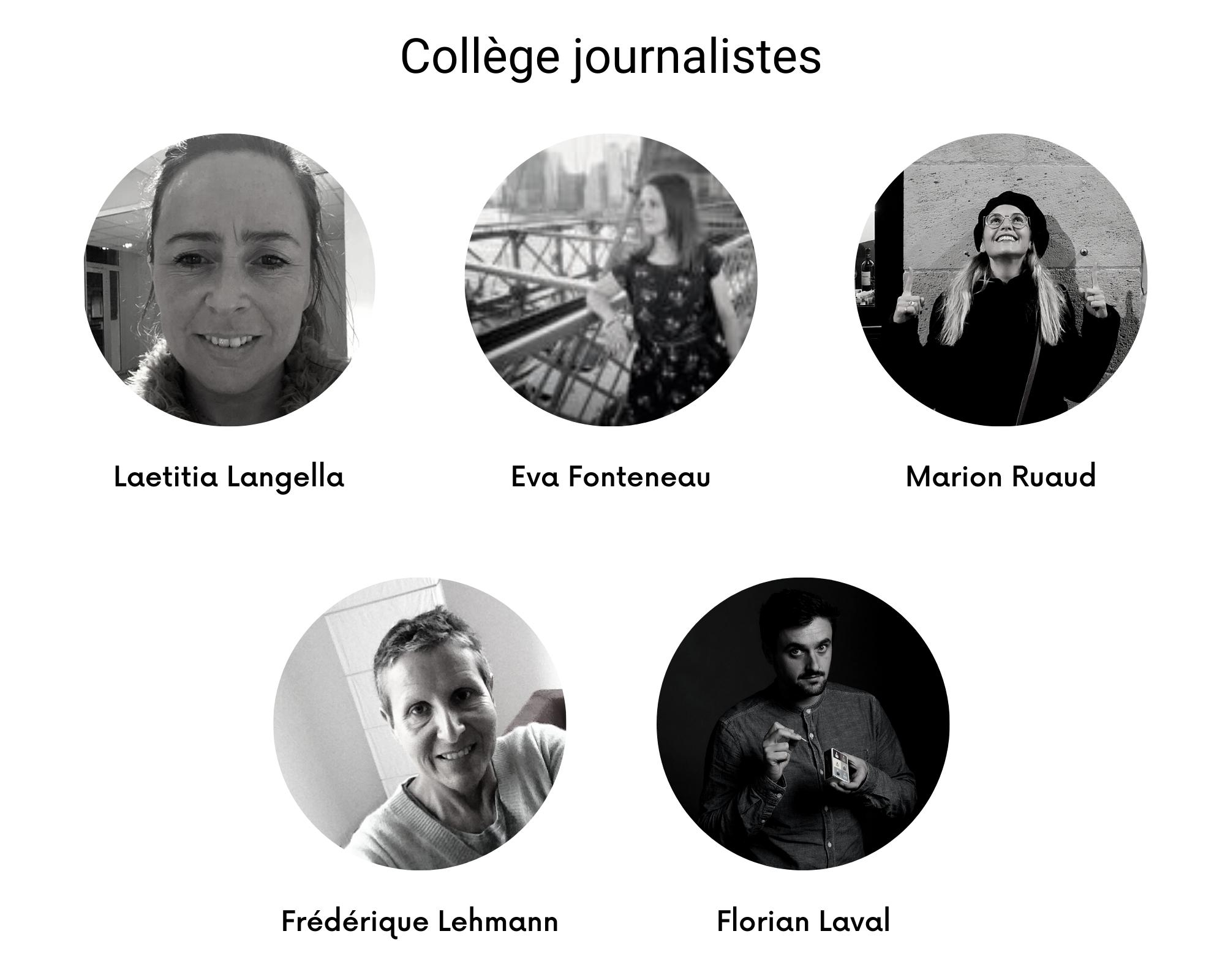 journalistes CA 2021