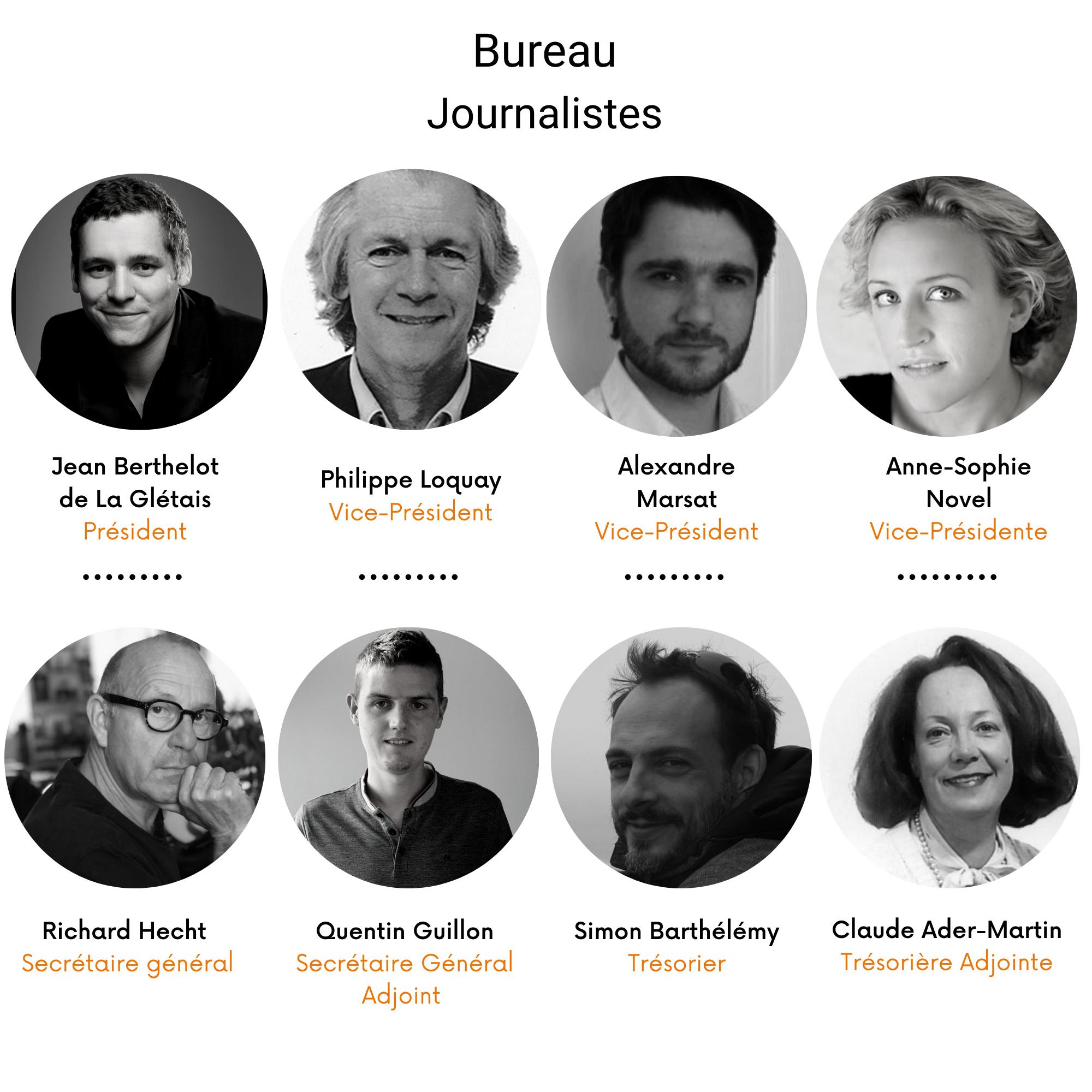 Bureau Journalistes 2021