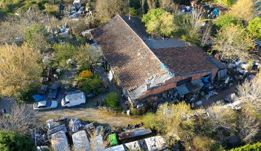 Site Saint Ferme déchets