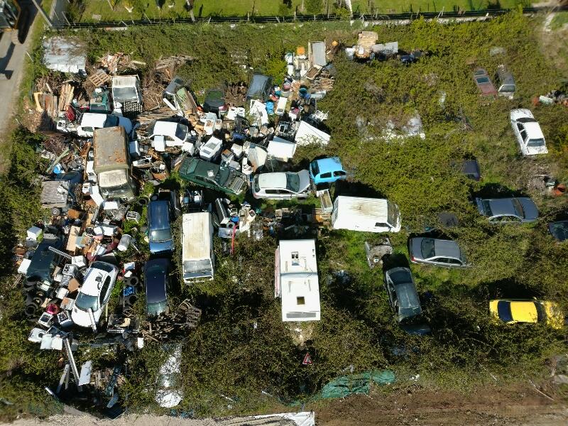 Site Saint Yvans déchets