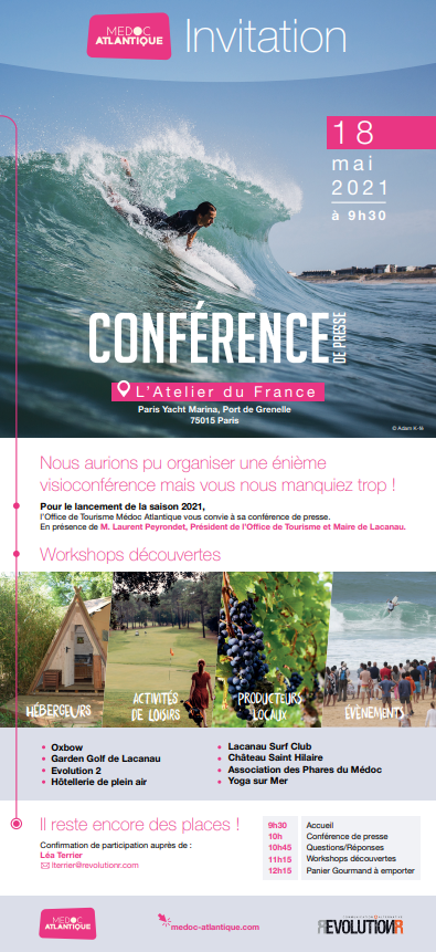 invitation Médoc Atlantique