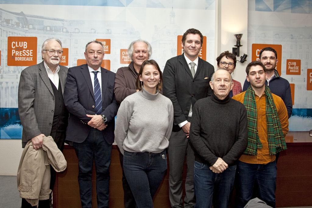 AG , CLUB DE LA PRESSE DE BORDEAUX, 6 FEVRIER 2020.
