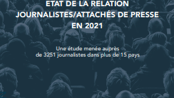Relations journalistes et attachés de presse 2021